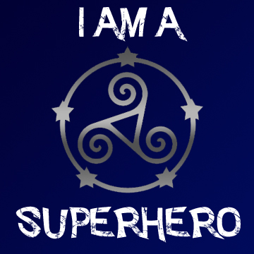 Proud Member of the Teenaged Superhero Society